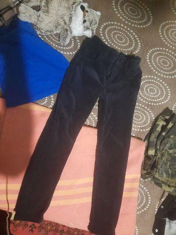 Классные Вельветовые штанишки для мальчика 7 лет 122 рост