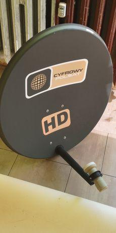 Talerz z mocowaniem satelita