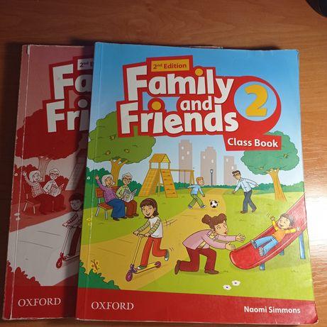 Книжка англійської мови Famili and Friends 2