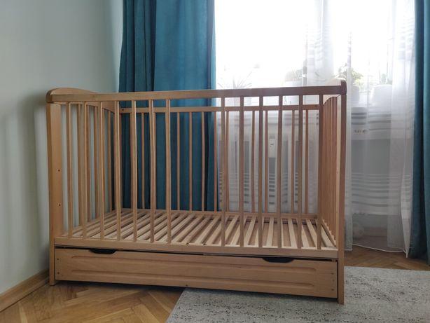 Łóżeczko szczebelkowe 120x60
