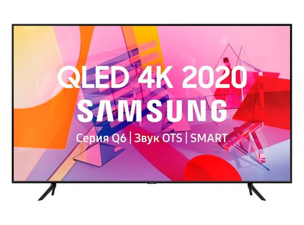 Телевизор Samsung QE85Q60T Smart TV 4К