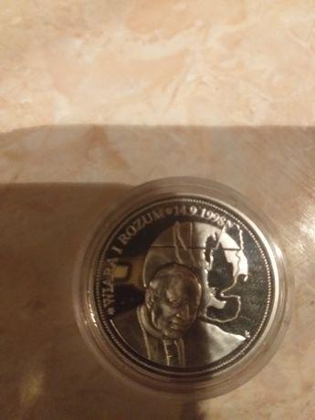 Medal z ojcem świętym Jan Paweł II