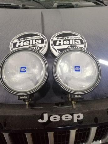 Hella rallye 3000 фари фанарі світло фонарі на авто туманки галогени