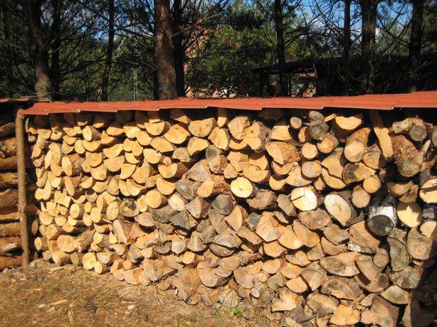 Drewno kominkowe,opałowe -mieszane 2-3letnie suche SOSNA,-RABAT 119 zł