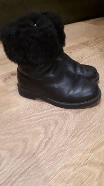 Зимове дитяче взуття р 35