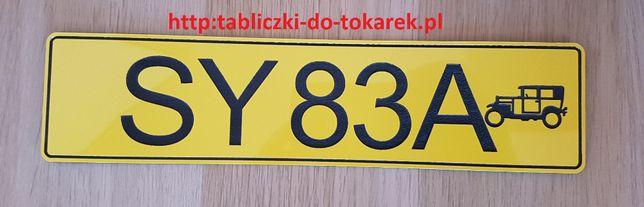 Tablice Rejestracyjne do starych zabytkowych samochodów