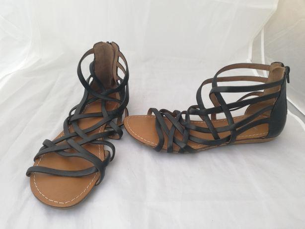 Sandały skórzane Clarks UK 6 r.39,5 , wkł 25,5 cm