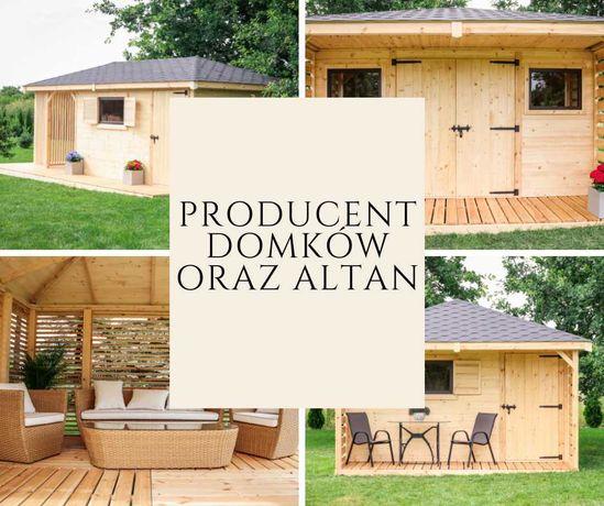 Domek 3x3 Domek Narzędziowy Drewutnia Montieri 1 / Altana Ogrodowa