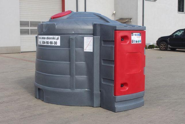 Zbiornik 5000 z systemem kontroli paliwa - karty chipy-ON diesel -AMAX