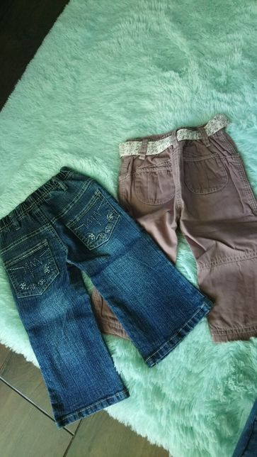 Spodnie 74/80 / ubranka dla dziecka