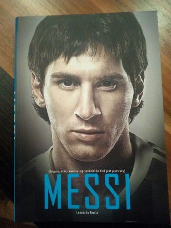 Messi książka bigrafia