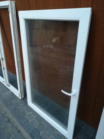 Okno plastikowe 156x134 z demontażu