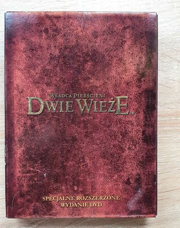 Władca Pierścieni Dwie Wieże wersja rozszerzona kolekcjonerska dvd