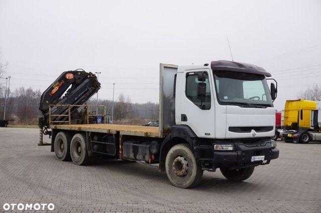 Renault KERAX 420 DCi (24516) Platforma + HDS