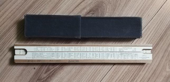 Suwak Logarytmiczny 1967 r