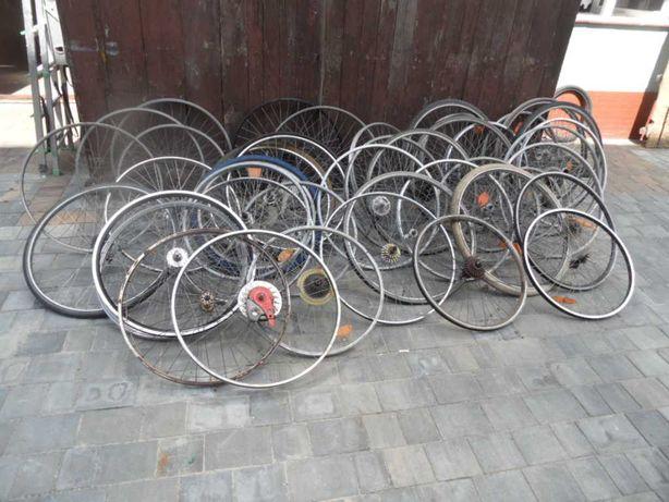 Pakiet kół rowerowych około 50 szt