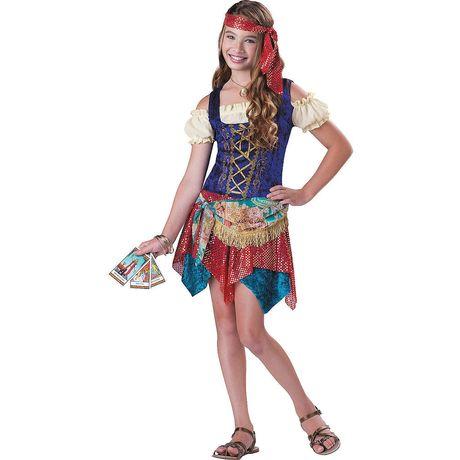 Nastoletnia Cyganeczka - kostium