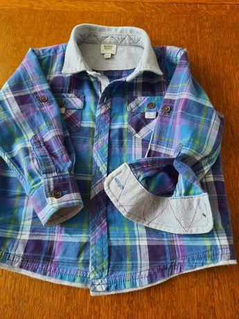 BAKER j. nowa FIRMOWA koszula bluzka w kratkę  12-18M r.80-86