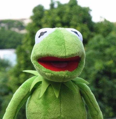 Новая мягкая игрушка лягушонок Кермит прикольная жаба лягушка