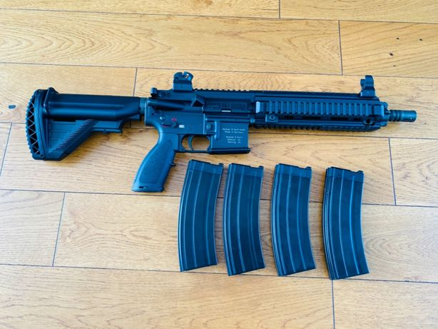 HK416D Heckler&koch , replika jak nowa magi UMAREX GBB
