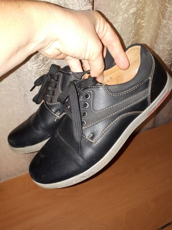 Туфли мальчику, 36 размер, кожа, отличное состояние