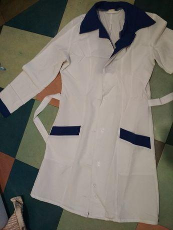 Халат медицинский,  белый халат