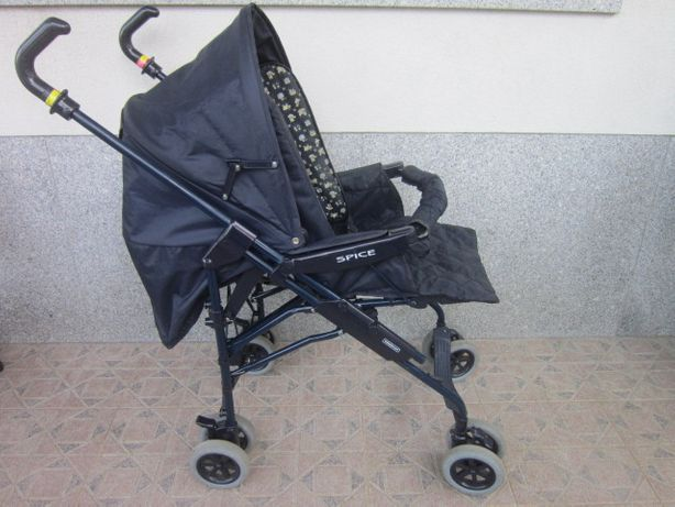 carrinho de bebe da Bebecar e cadeira da papa Olmitos