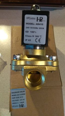 Elektrozawór 2N15 24V komplet cewka wtyczka