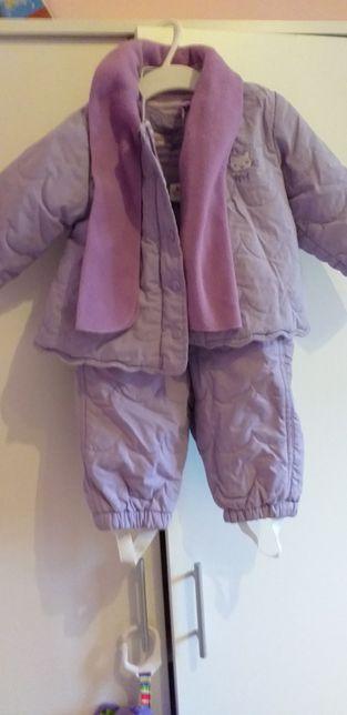 Kombinezon kurtka że spodniami 68