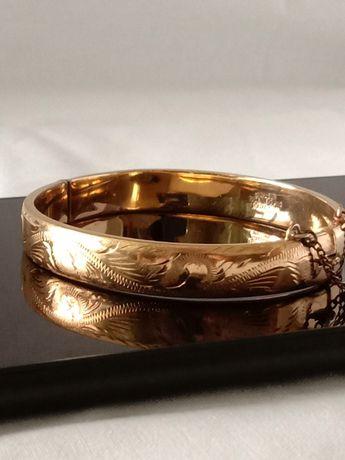 Браслет антикварный excalibur rolled gold винтажный
