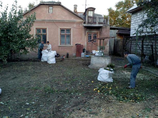 Уборка участка,территории,покос скос травы,добросовестно