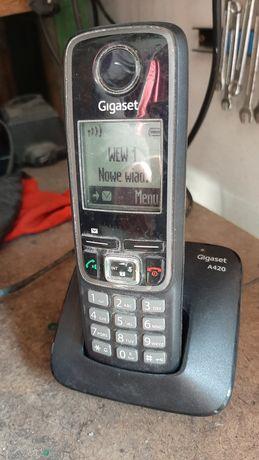 Telefon bezprzewodowy Gigaset A420