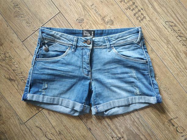 Jeansowe krótkie spodenki Clockhouse. Rozmiar EUR 38. Stan idealny