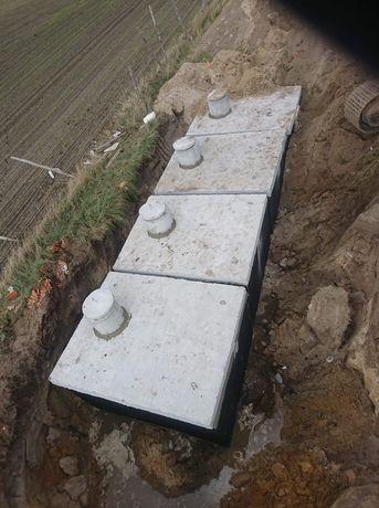Zbiornik betonowy szambo szamba betonowe 10m Poznań Września Koło Łódź