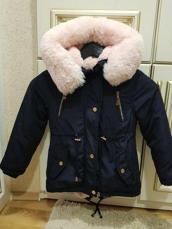 Дитяча зимова куртка _Куртка парка
