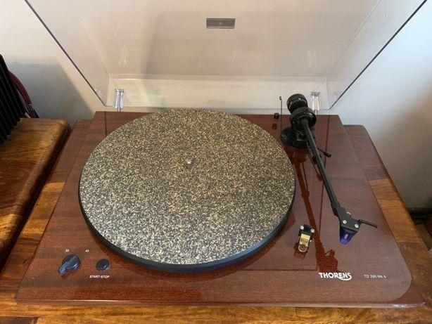 Gramofon Thorens TD 295 MK4 Mahoń