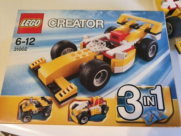 Lego 31002 creator bolid wyścigowy