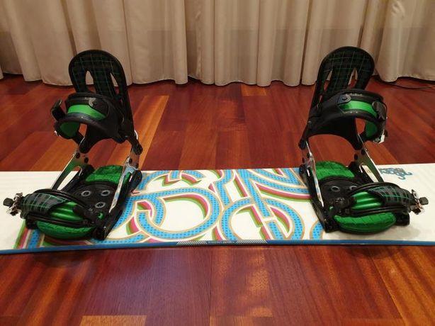 Сноуборд ROSSIGNOL женский + крепления + ботинки