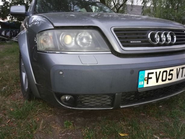 Audi A6 C5 Allroad Zderzak PDC Spryski 2,5 TDI KPL