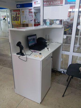 Ресершн, стол администратора, стойка торговая
