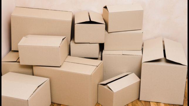 Картонные  коробка,ящик картонный.б/у