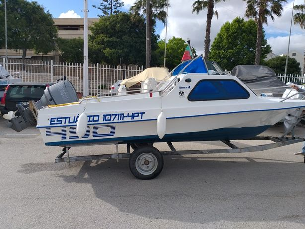 Barco riamar 490 cabin