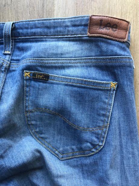 Spodnie jeansy rurki Lee W27 L31