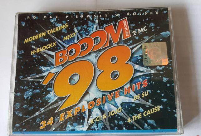 Składanka 2 kasety magnetofonowe BOOOM '98 THE SECOND, kaseta