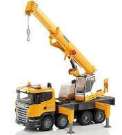 BRUDER 03570 Ciężarówka dźwig Scania