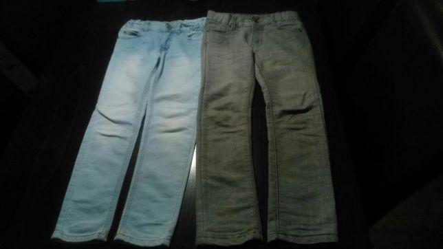 Spodnie, jeansy, dresy, rurki chłopak 6-7 lat
