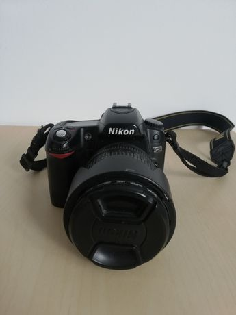 Nikon d80 + obiektyw + akcesoria