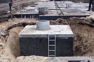 Nawadnianie, kanały samochodowe, zbiornik,szamba betonowe