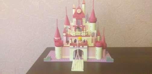 Замок лего для девочек