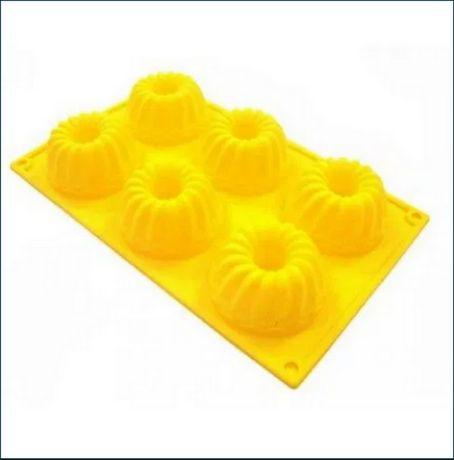 Форма силиконовая для мыла выпечки